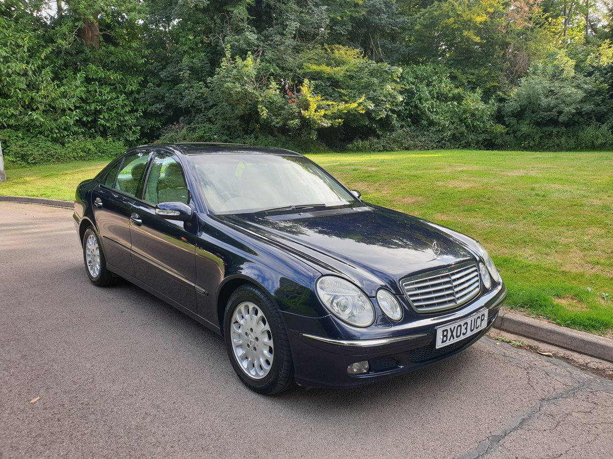 2003 Very Hi Spec  Mercedes E320 CDi  Elegance  Tip Auto