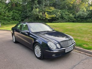 2003 Very Hi Spec. Mercedes E320 CDi. Elegance. Tip Auto. Bargain For Sale
