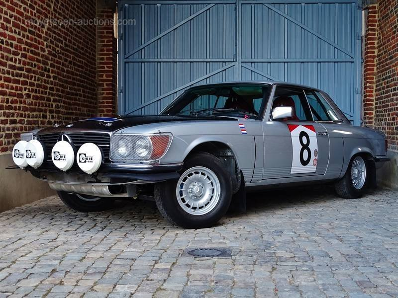 1979 MERCEDES-BENZ 450 SLC 5.0 Rally For Sale by Auction (picture 1 of 6)