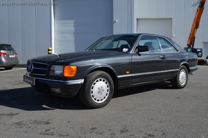 1982 MERCEDES-BENZ 500 SEC For Sale by Auction