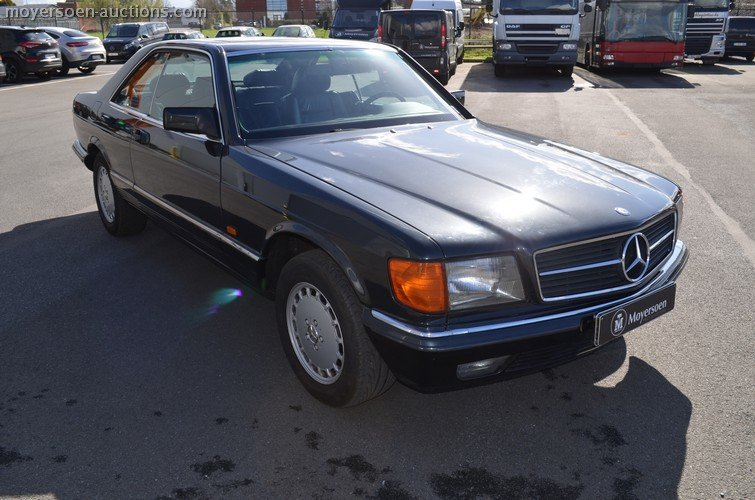 1982 MERCEDES-BENZ 500 SEC For Sale by Auction (picture 2 of 6)
