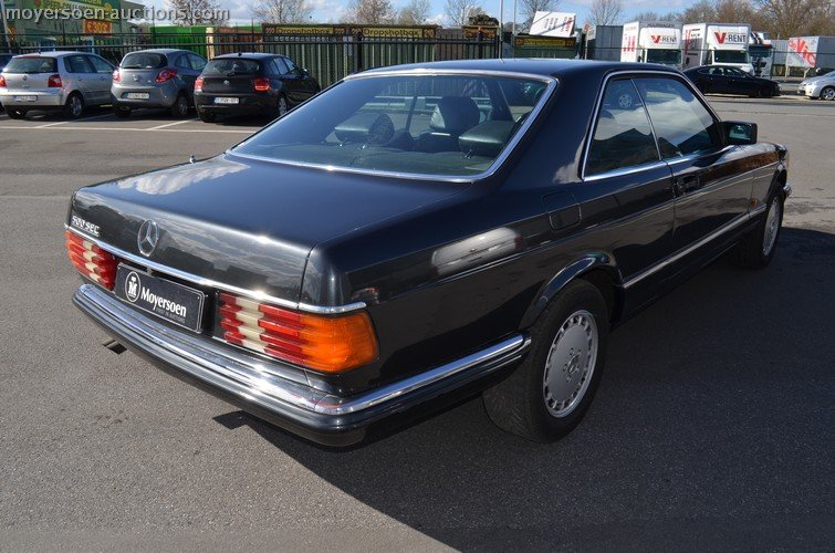 1982 MERCEDES-BENZ 500 SEC For Sale by Auction (picture 3 of 6)