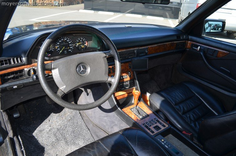 1982 MERCEDES-BENZ 500 SEC For Sale by Auction (picture 6 of 6)