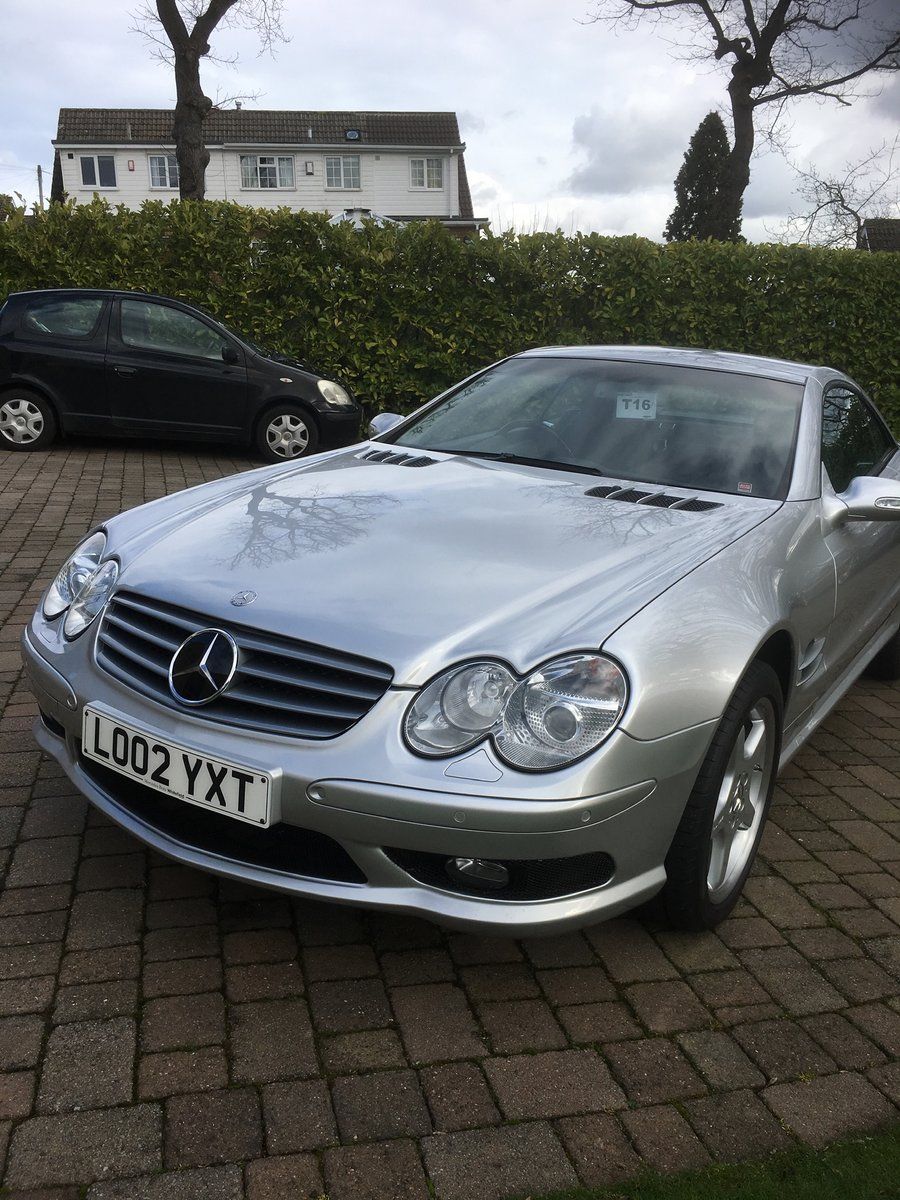 2002 Mercedes SL500  (26000 Miles) For Sale (picture 1 of 6)