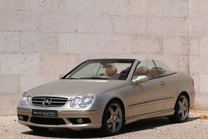 2005 Clk 500 designo by giorgio armani (1 of 100) For Sale
