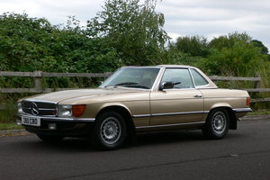 1985 Mercedes-Benz 280SL with Hardtop For Sale by Auction