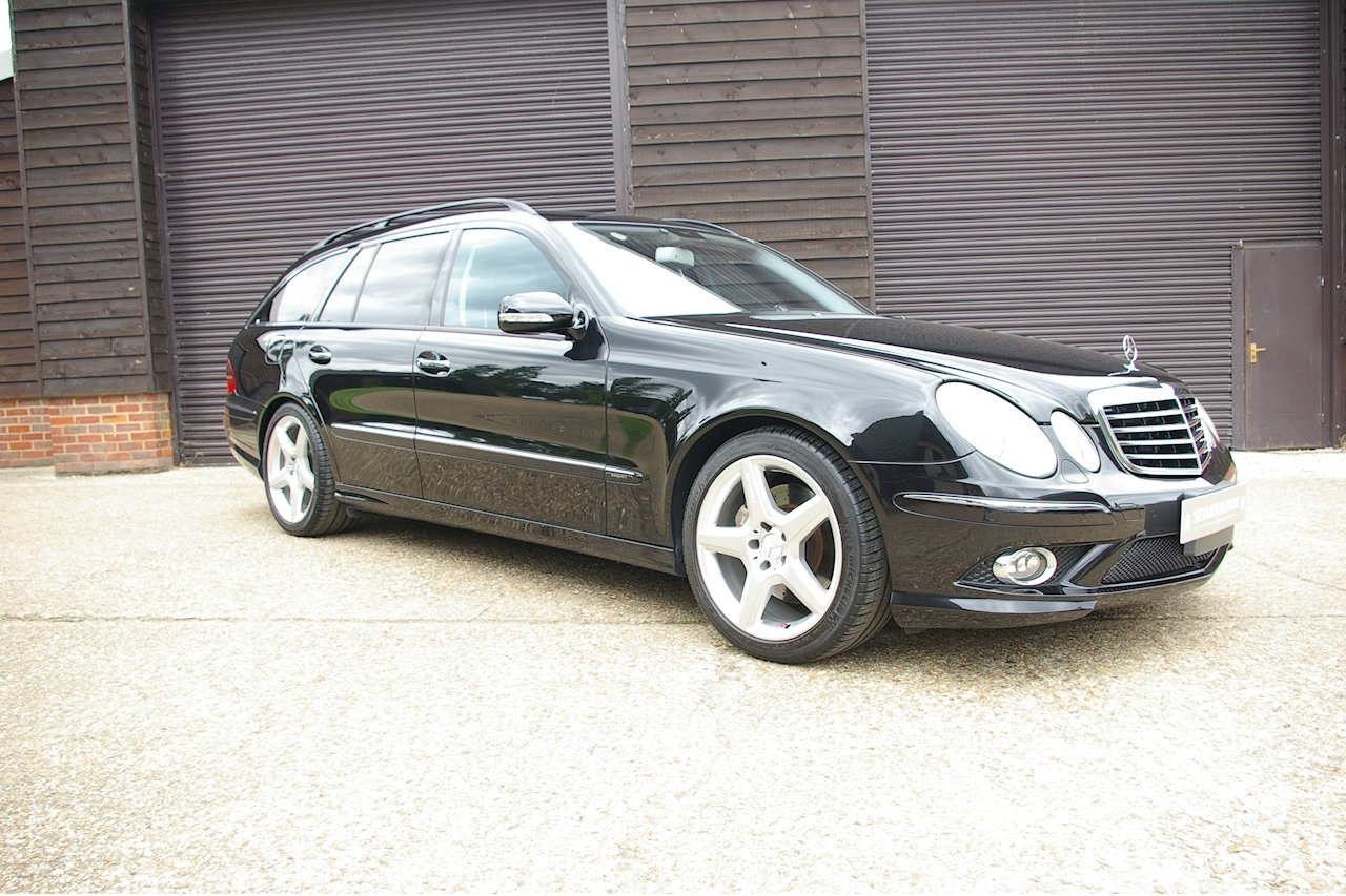 2008 Mercedes W211 E350 Avantgarde S AMG Estate (48164 miles) SOLD (picture 1 of 6)