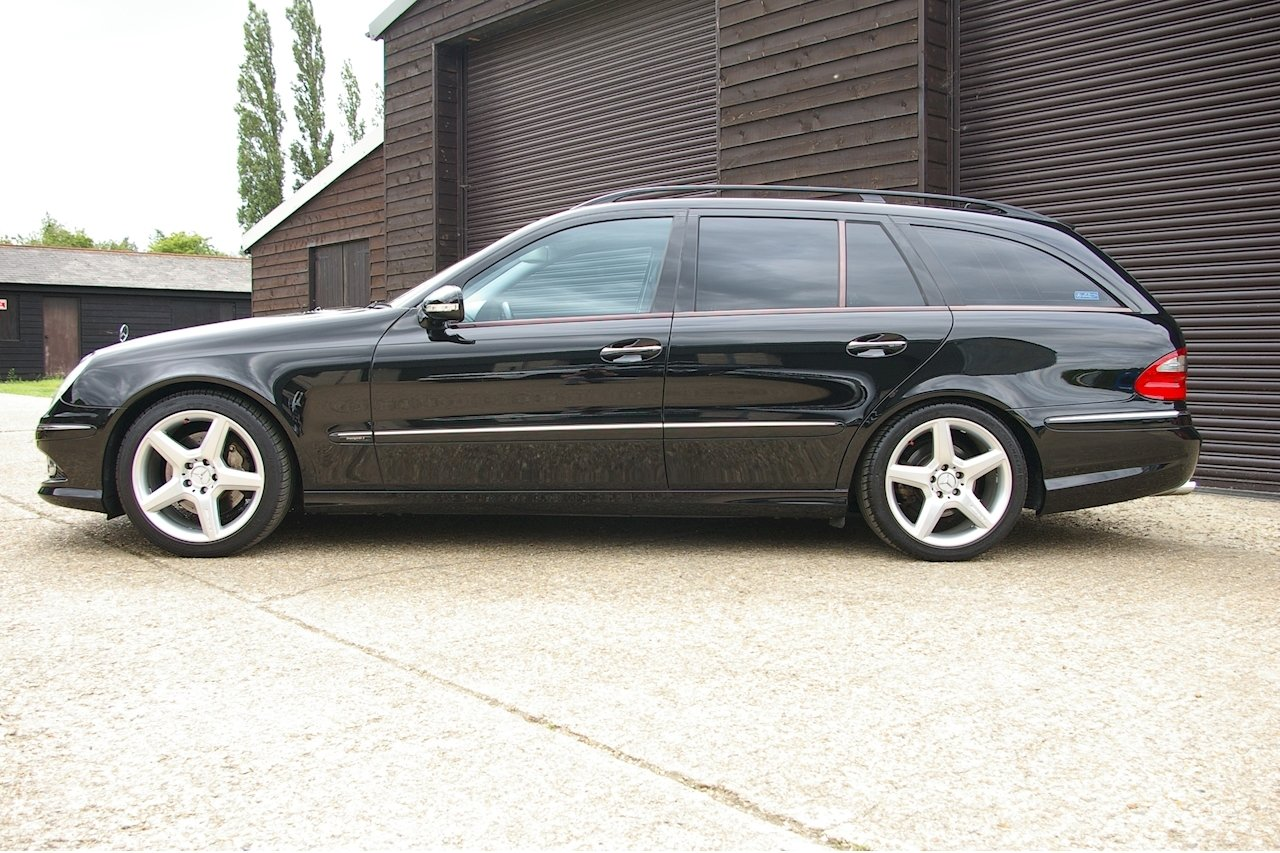 2008 Mercedes W211 E350 Avantgarde S AMG Estate (48164 miles) SOLD (picture 2 of 6)