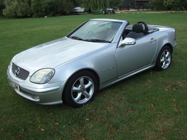 2002 Mercedes SLK230 Kompressor only 40,500 miles For Sale (picture 1 of 6)