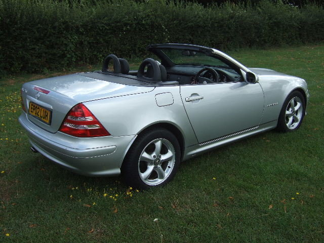 2002 Mercedes SLK230 Kompressor only 40,500 miles For Sale (picture 4 of 6)