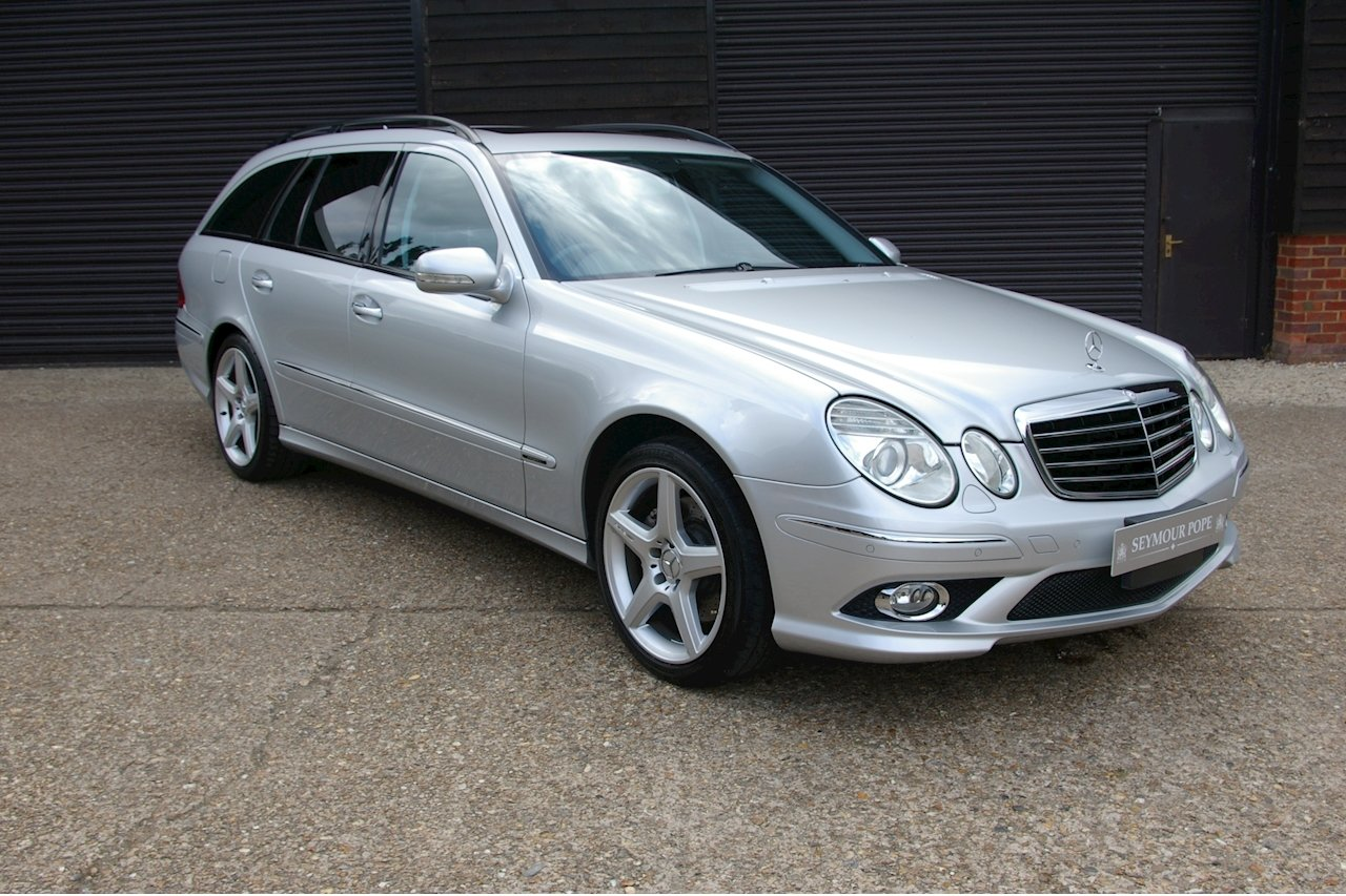 2008 Mercedes W211 E350 Avantgarde S AMG Estate (56,095 miles) SOLD (picture 1 of 6)