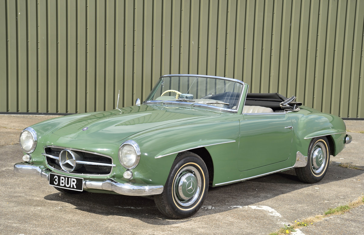 1957 Mercedes 190 SL SOLD (picture 1 of 6)