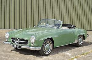 1957 Mercedes 190 SL SOLD