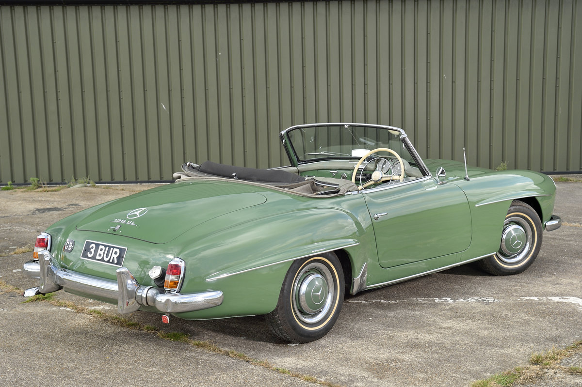 1957 Mercedes 190 SL SOLD (picture 2 of 6)