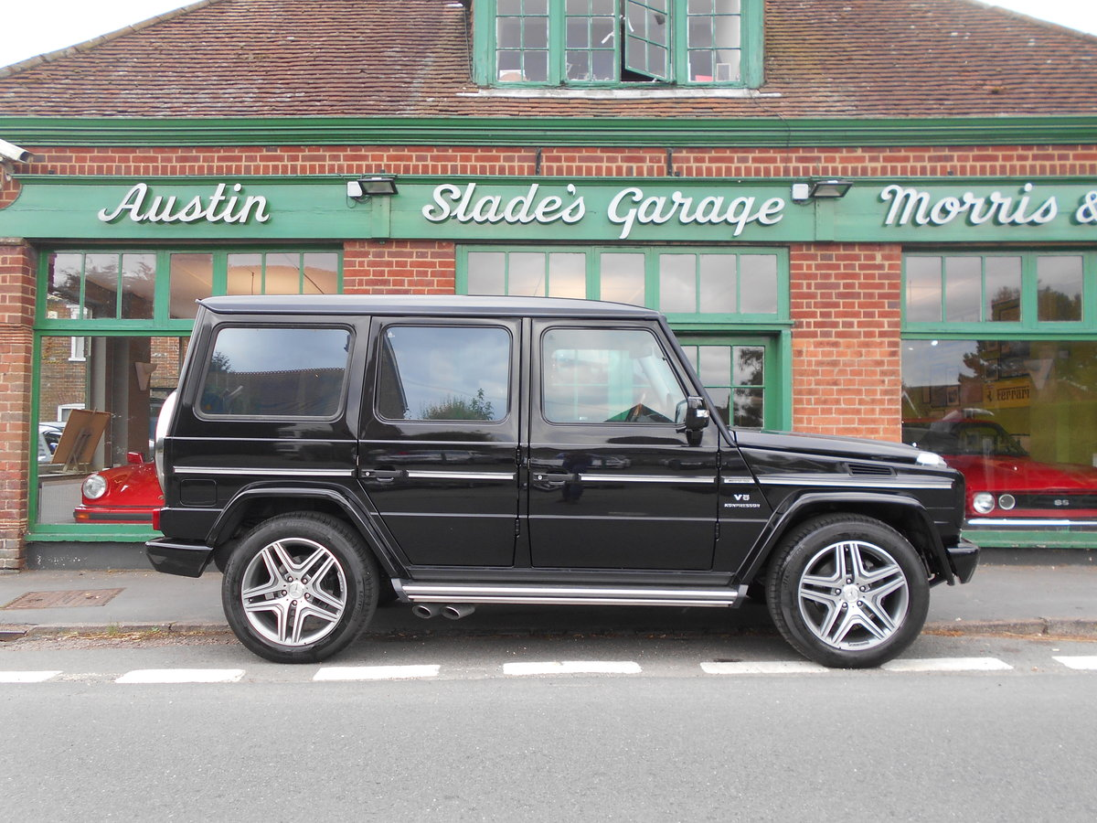 2007 Mercedes G55 AMG  SOLD (picture 1 of 4)