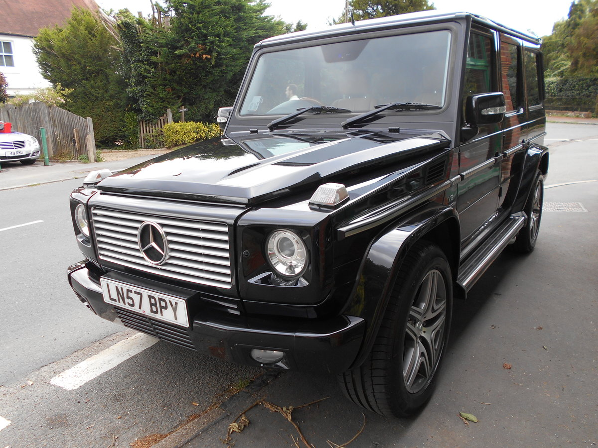 2007 Mercedes G55 AMG  SOLD (picture 3 of 4)