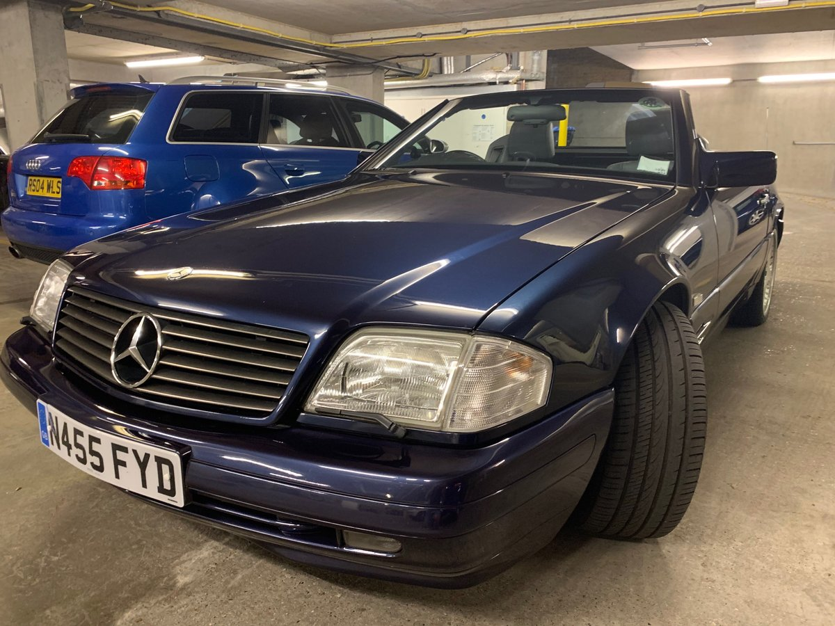 1996 Mercedes SL500 (R129). Rust free, low mileage. For Sale (picture 3 of 6)