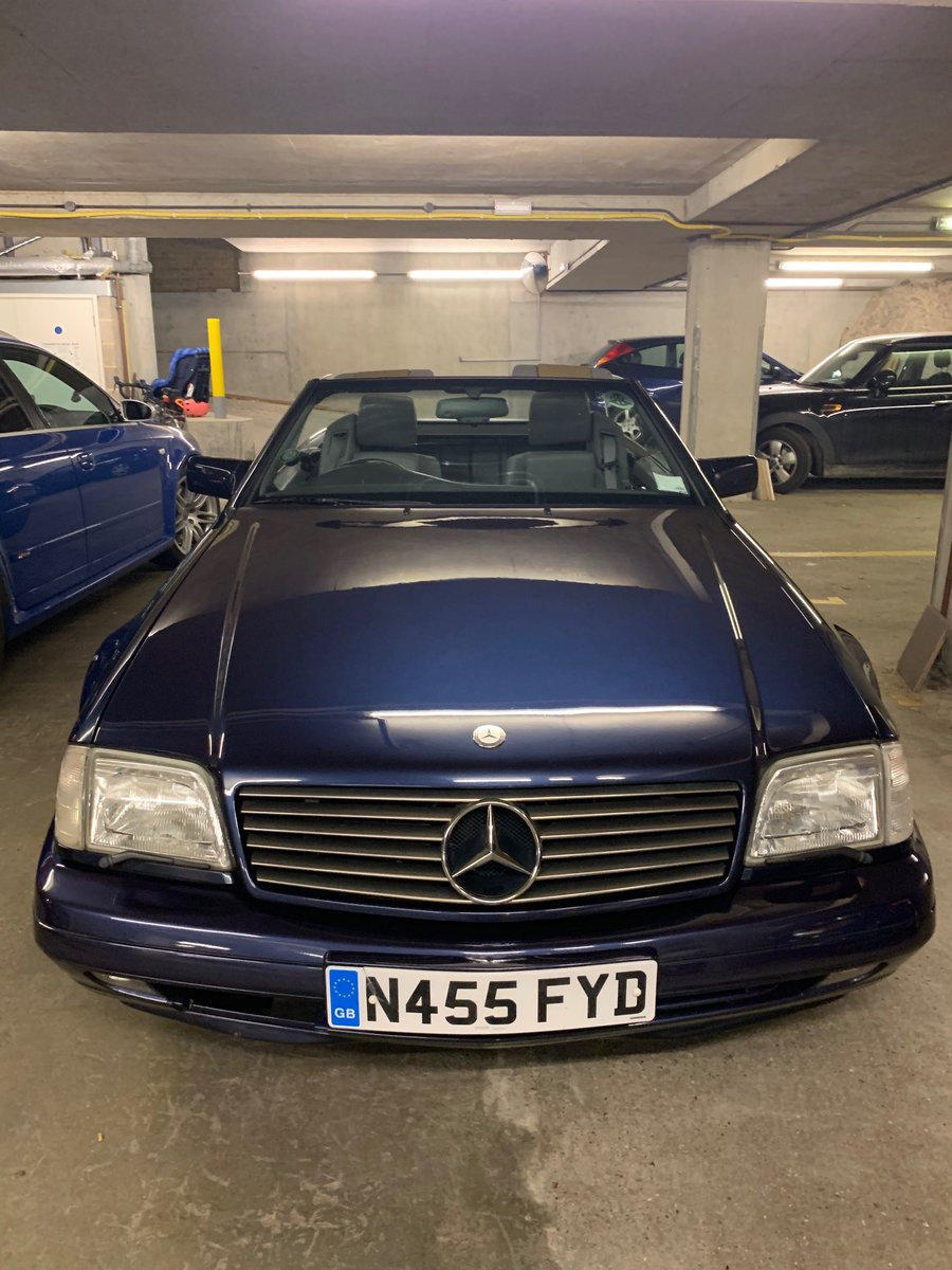 1996 Mercedes SL500 (R129). Rust free, low mileage. For Sale (picture 6 of 6)