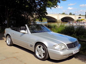 2001 MERCEDES BENZ SL320 - ONE OWNER - 41K MILES - EXCEPTIONAL For Sale