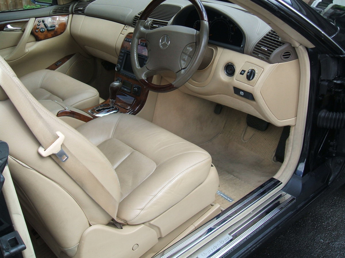 2003 Mercedes 500 cl  coupe auto  88000 mls For Sale (picture 4 of 6)