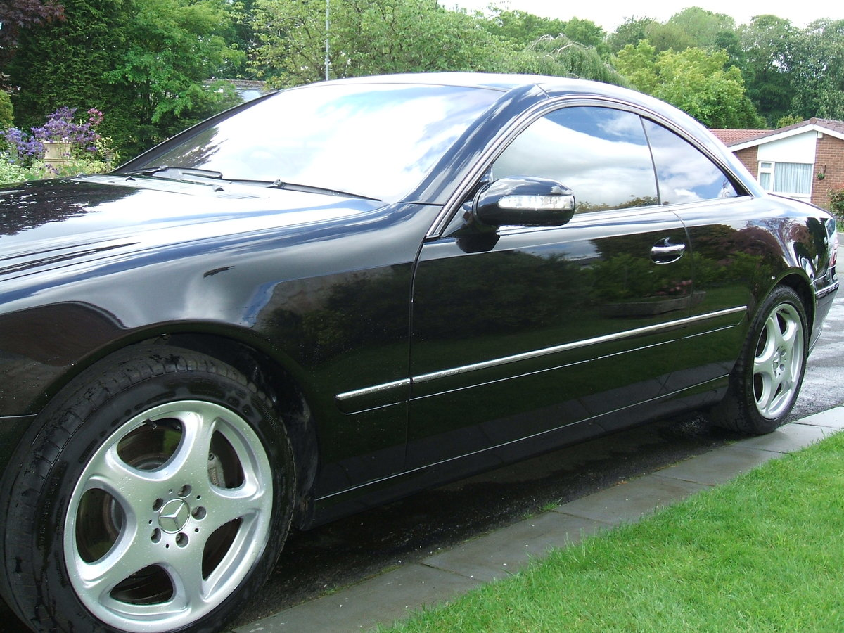2003 Mercedes 500 cl  coupe auto  88000 mls For Sale (picture 5 of 6)