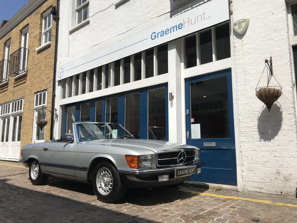 1984 Mercedes Benz 500SL - fully restored SOLD (picture 1 of 24)