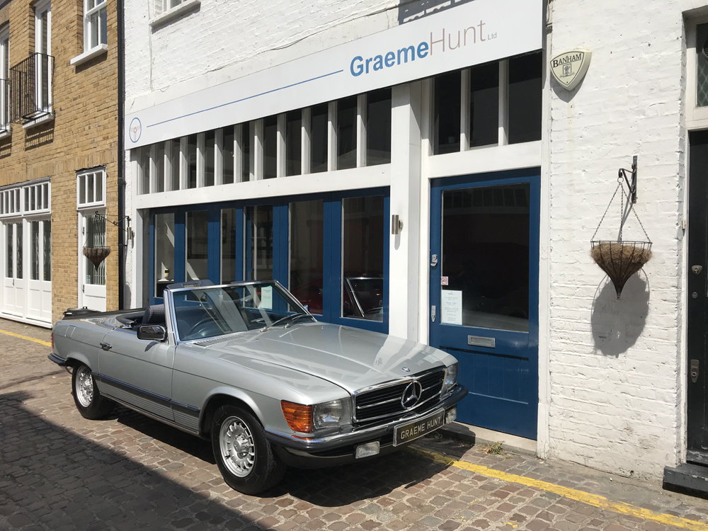 1984 Mercedes Benz 500SL - fully restored SOLD (picture 2 of 24)