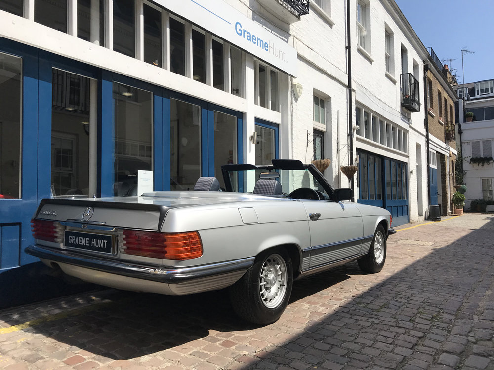 1984 Mercedes Benz 500SL - fully restored SOLD (picture 3 of 24)