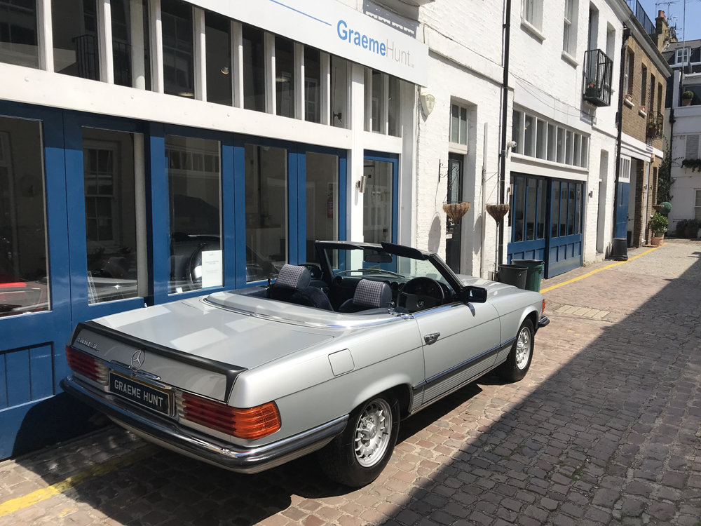 1984 Mercedes Benz 500SL - fully restored SOLD (picture 4 of 24)