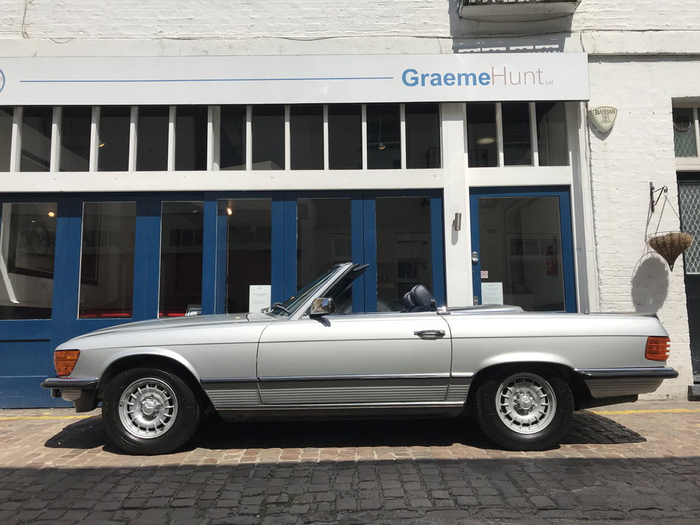 1984 Mercedes Benz 500SL - fully restored SOLD (picture 5 of 24)