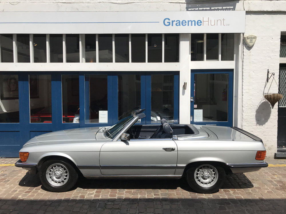 1984 Mercedes Benz 500SL - fully restored SOLD (picture 6 of 24)