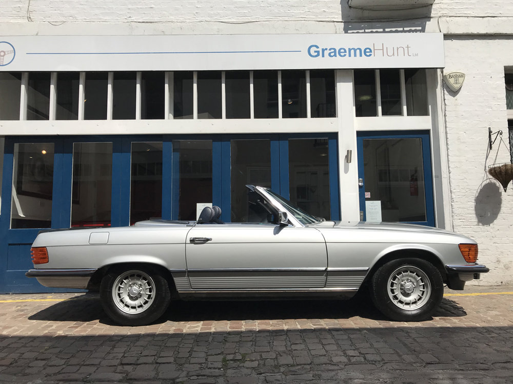 1984 Mercedes Benz 500SL - fully restored SOLD (picture 7 of 24)