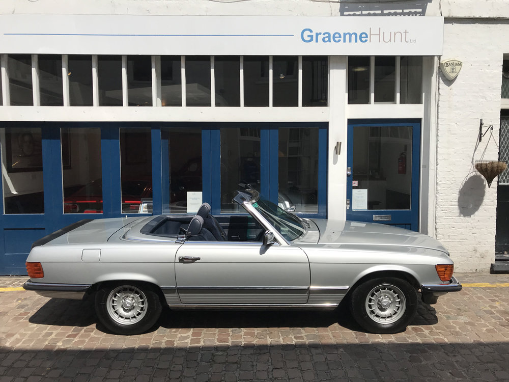 1984 Mercedes Benz 500SL - fully restored SOLD (picture 8 of 24)