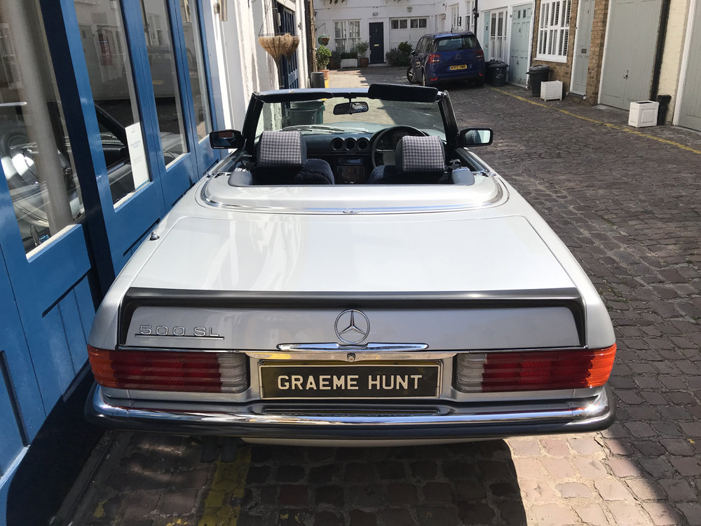 1984 Mercedes Benz 500SL - fully restored SOLD (picture 9 of 24)