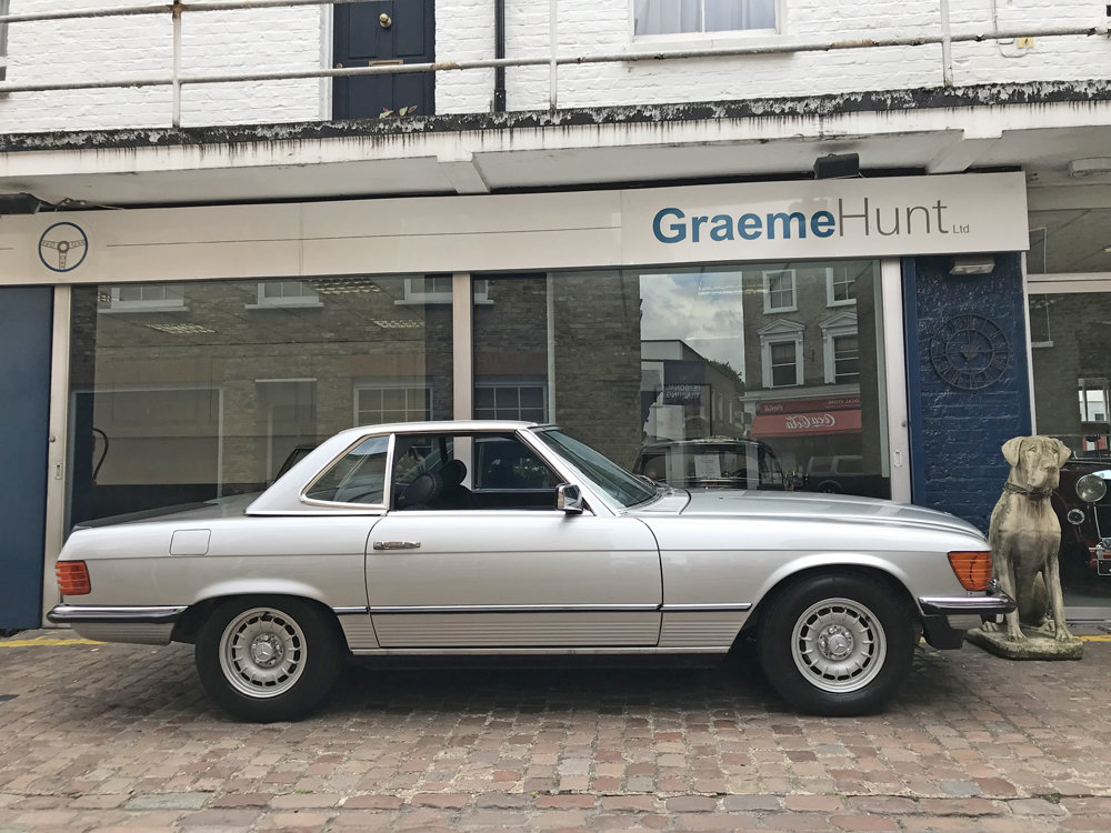 1984 Mercedes Benz 500SL - fully restored SOLD (picture 18 of 24)