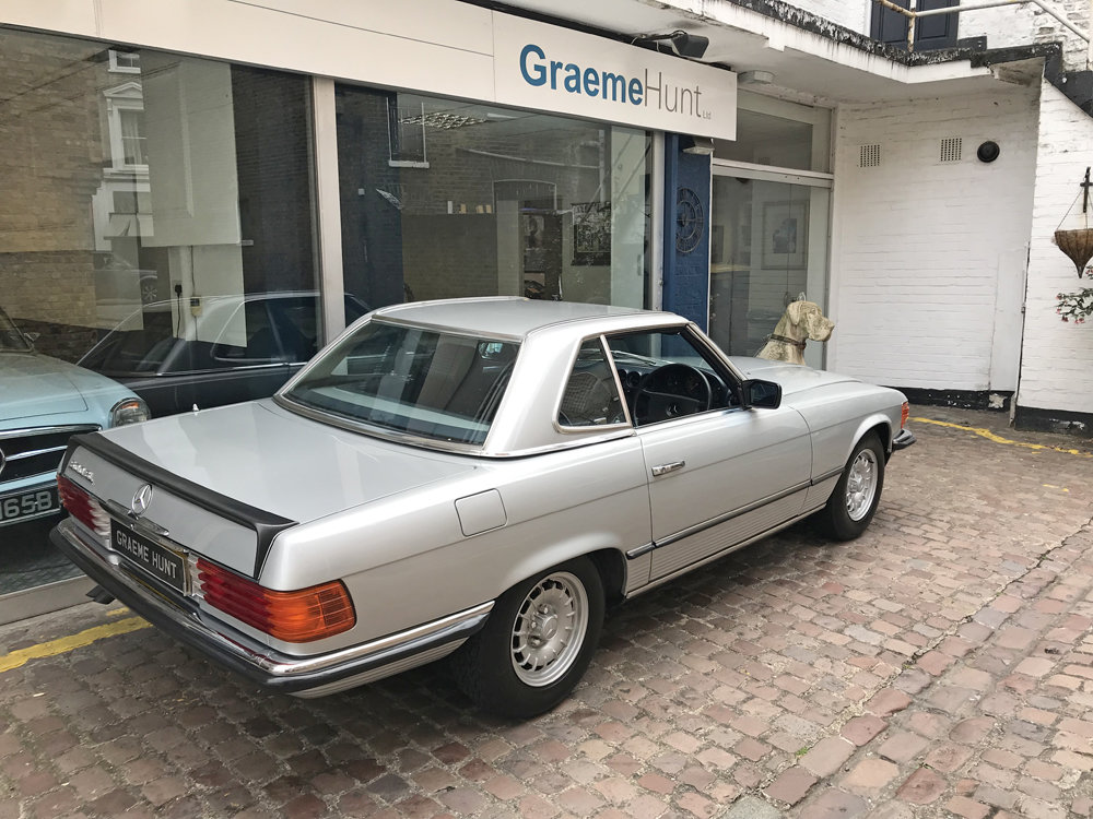 1984 Mercedes Benz 500SL - fully restored SOLD (picture 19 of 24)