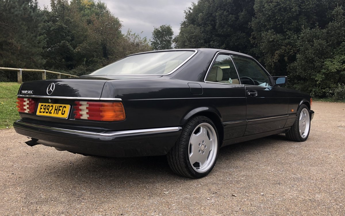 1988 Mercedes 560 Sec For Sale (picture 2 of 6)