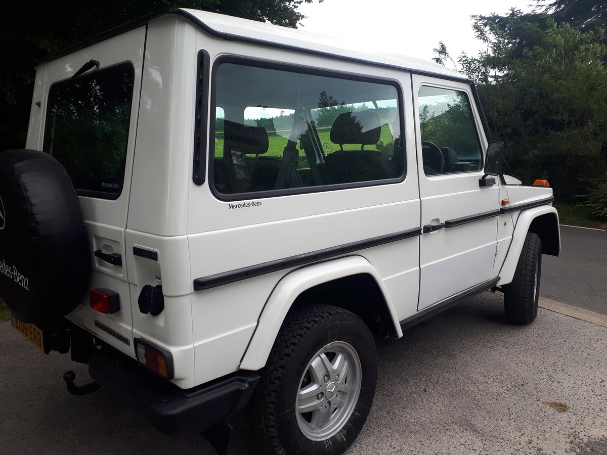 1987 Mercedes g wagon 3.0 diesel manual low miles For Sale (picture 5 of 6)