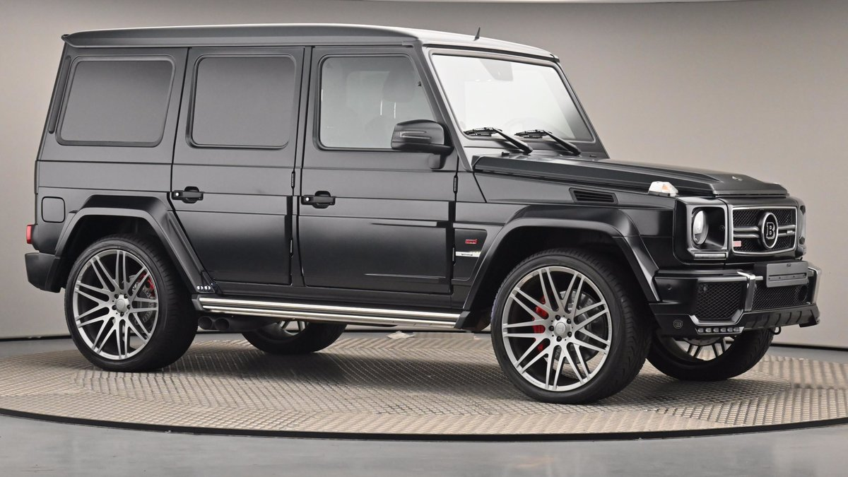 2015 Used MERCEDES BENZ G-CLASS 5.5 G63 AMG BRABUS for sale For Sale (picture 1 of 6)