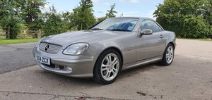 2004 Mercedes 320 SLK Special Edition SOLD