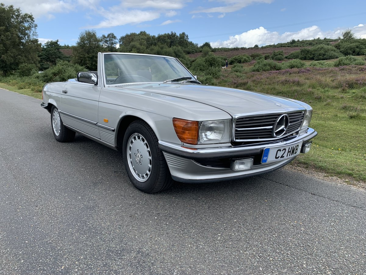 Mercedes 420SL 1988 Only 81000 Miles Air Conditioning  SOLD (picture 1 of 6)
