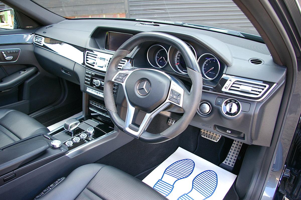 2014 Mercedes E63 AMG 5.5 V8 Bi-Turbo Estate Auto (53,870 miles) SOLD (picture 4 of 6)