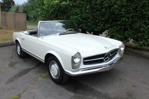 1966 Mercedes Benz 230 SL - Lot 639 For Sale by Auction