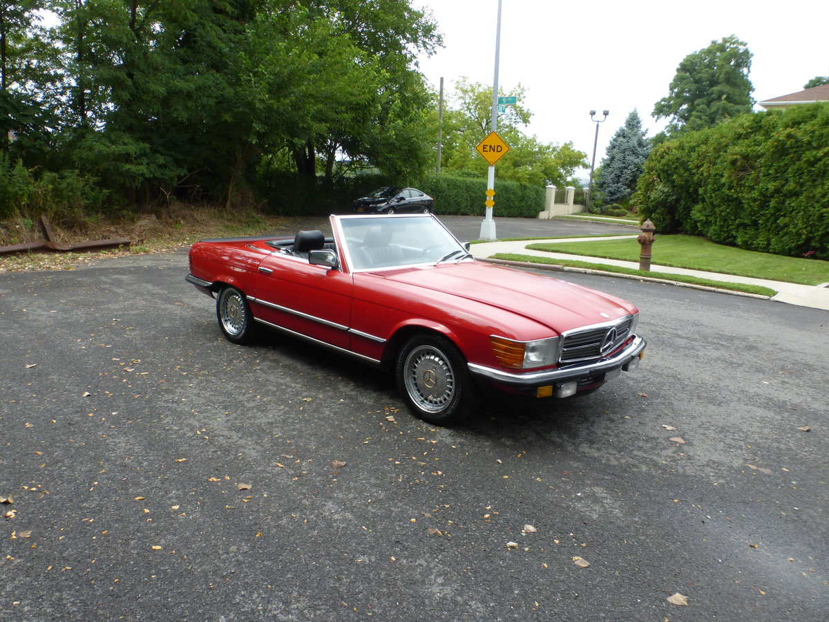 1983 Mercedes 500SL Euro Spec Nice Driver - For Sale (picture 1 of 6)