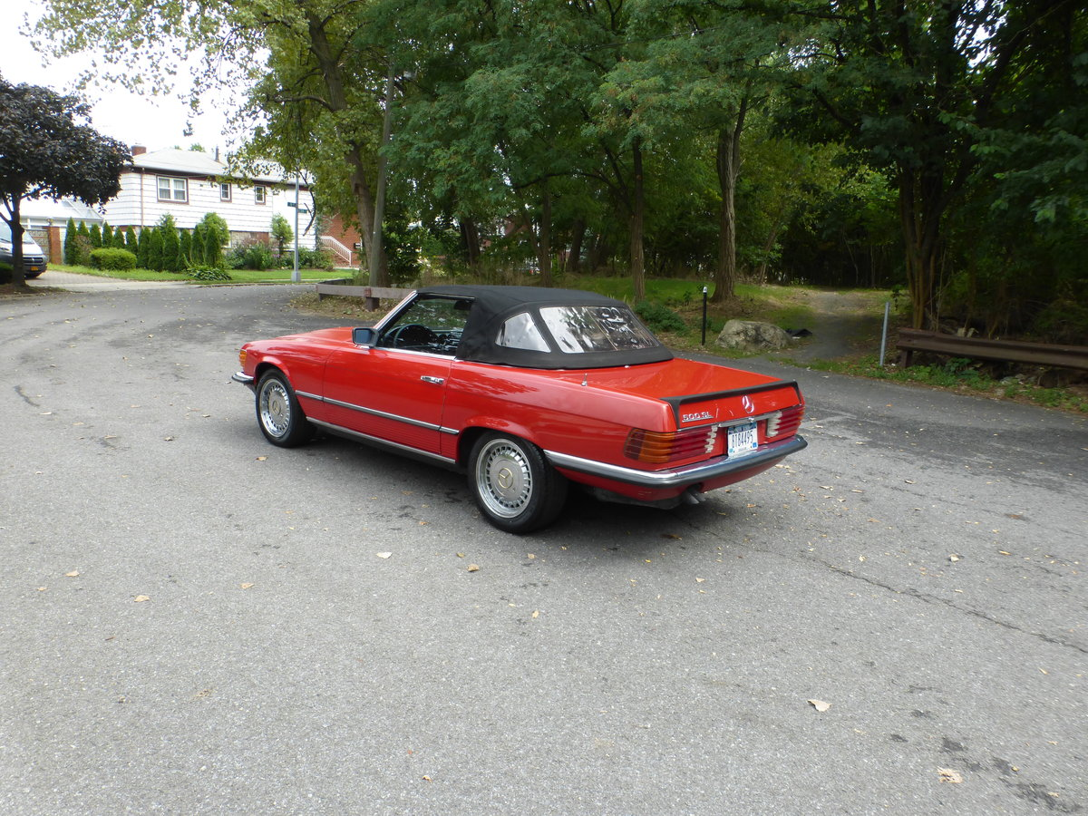 1983 Mercedes 500SL Euro Spec Nice Driver - For Sale (picture 4 of 6)