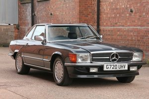 1989 Mercedes 300 SL R107  G Reg Blue/Black 169k