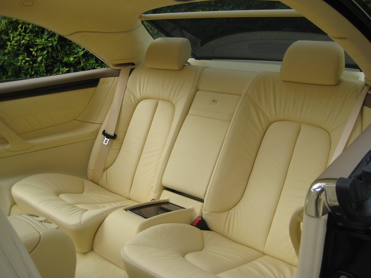 2001 Mercedes Benz CL500 1 Owner With Just 19,500 Miles  For Sale (picture 3 of 6)