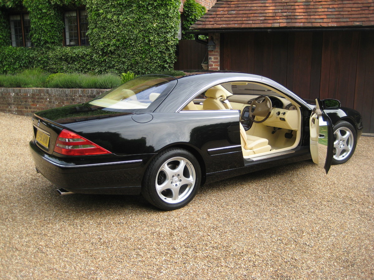 2001 Mercedes Benz CL500 1 Owner With Just 19,500 Miles  For Sale (picture 6 of 6)