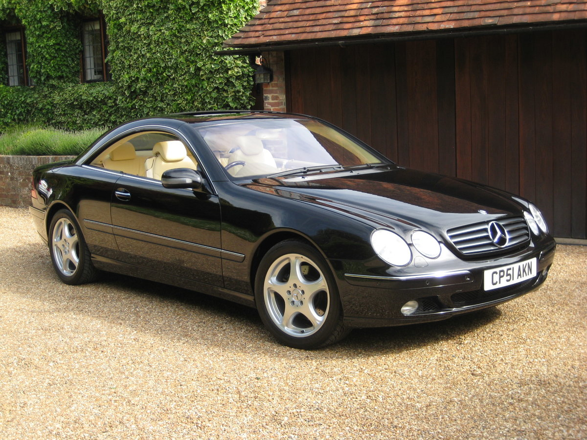 2001 Mercedes Benz CL500 1 Owner With Just 19,500 Miles  For Sale (picture 5 of 6)
