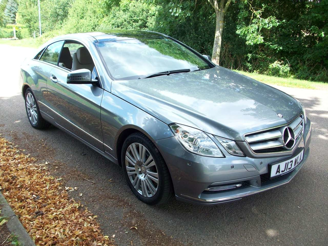 2013 Mercedes Benz E350CDI Blue Efficiency Coupe SOLD (picture 1 of 6)